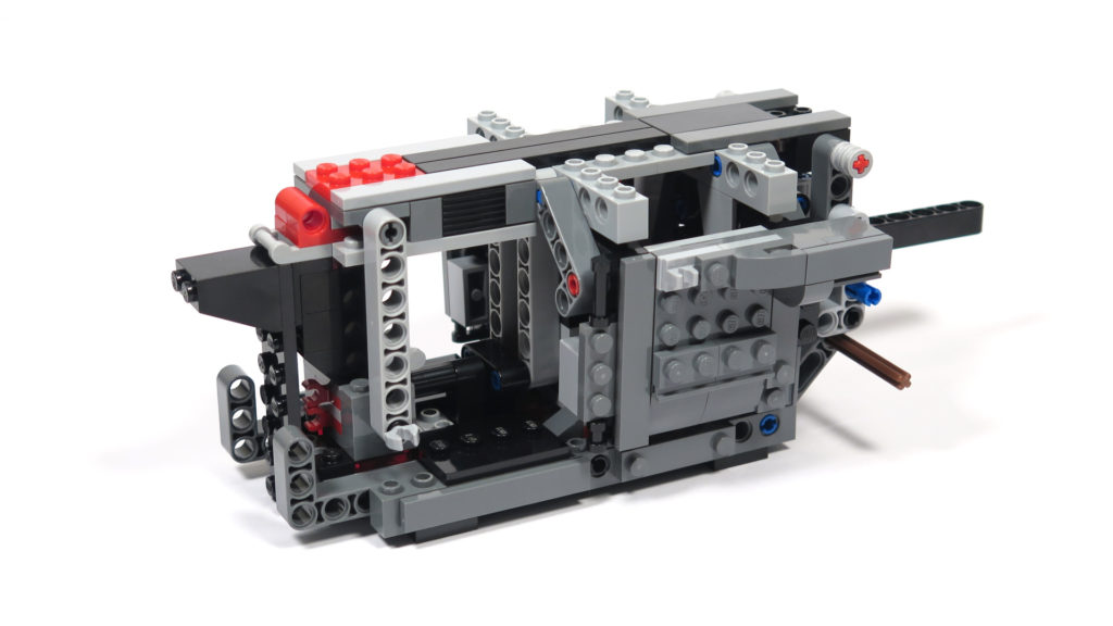 LEGO® Star Wars™ 75189 First Order Heavy Assault Walker™ - Bauabschnitt 2 - Rückseite | ©2018 Brickzeit