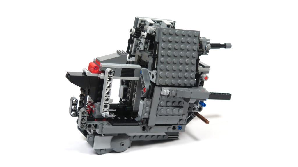 LEGO® Star Wars™ 75189 First Order Heavy Assault Walker™ - Bauabschnitt 3 - Rückseite | ©2018 Brickzeit