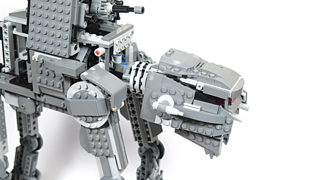LEGO® Star Wars™ 75189 First Order Heavy Assault Walker™ - Bauabschnitt 7 | ©2018 Brickzeit