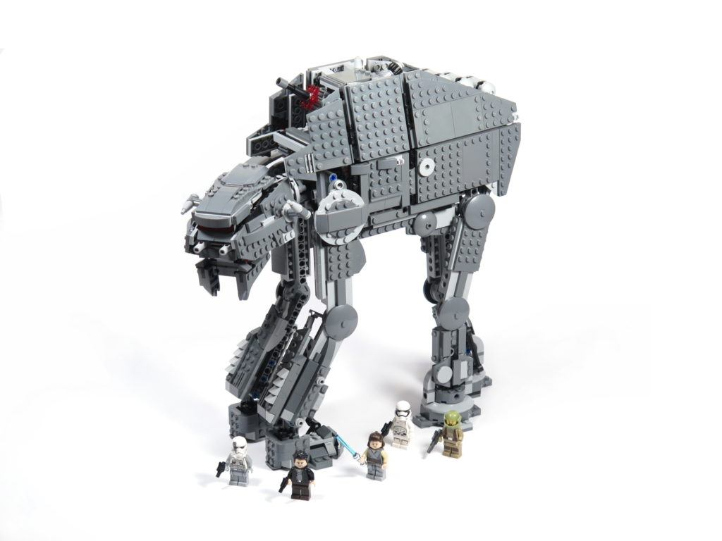 LEGO® Star Wars™ 75189 First Order Heavy Assault Walker™ - Set | ©2018 Brickzeit