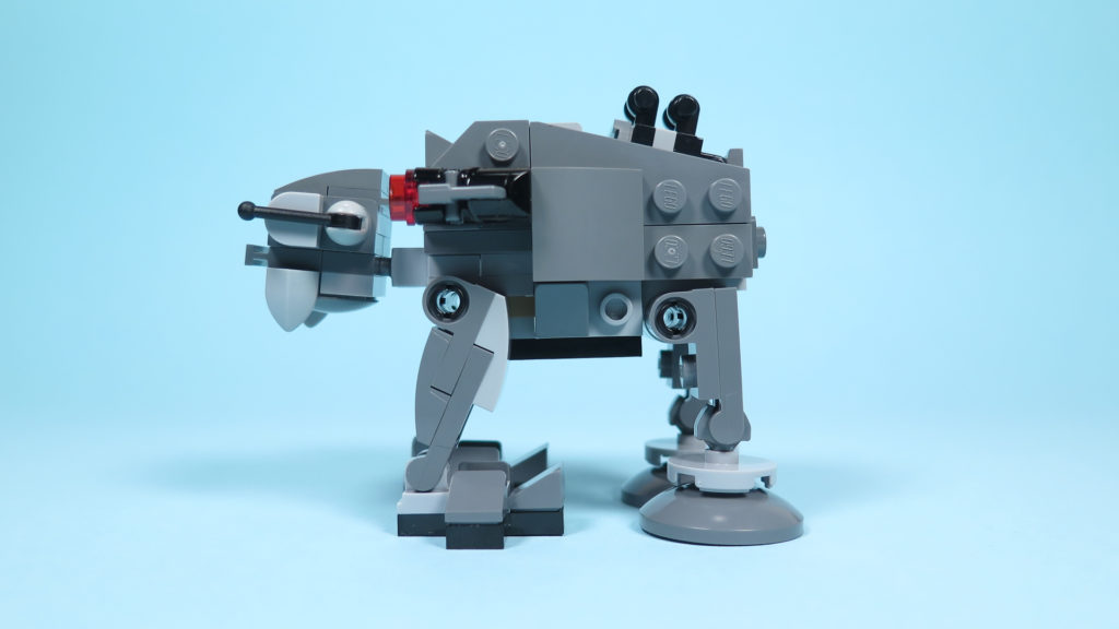 LEGO® Star Wars™ 75195 Ski Speeder™ vs. First Order Walker™ Microfighters - Walker links | ©2018 Brickzeit