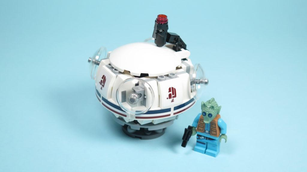 LEGO® Star Wars™ 75205 Mos Eisley Cantina™ - Bauabschnitt 1 | ©2018 Brickzeit