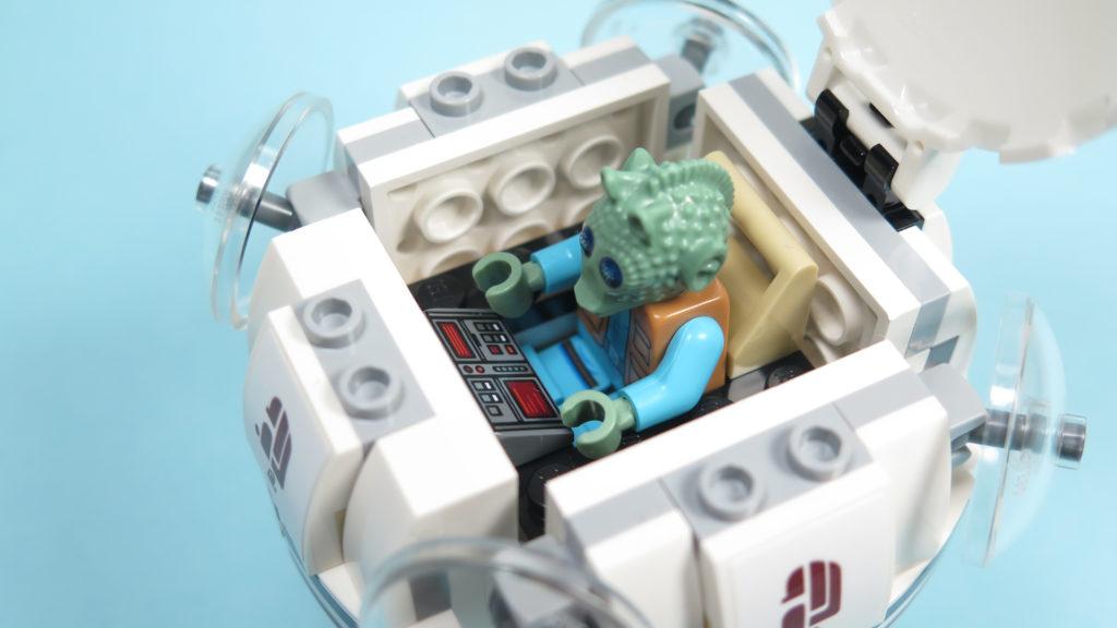 LEGO® Star Wars™ 75205 Mos Eisley Cantina™ - Bauabschnitt 1 - Raumschiff Cockpit | ©2018 Brickzeit
