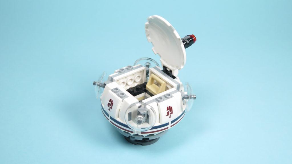 LEGO® Star Wars™ 75205 Mos Eisley Cantina™ - Bauabschnitt 1 - Raumschiff offen | ©2018 Brickzeit