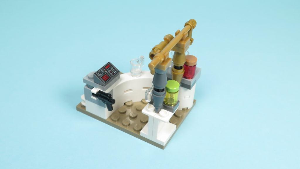LEGO® Star Wars™ 75205 Mos Eisley Cantina™ - Bauabschnitt 2 - Bar - Kassenbereich | ©2018 Brickzeit