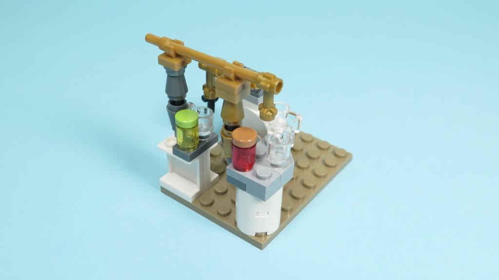 LEGO® Star Wars™ 75205 Mos Eisley Cantina™ - Bauabschnitt 2 - Bar - Zapfanlagenbehälter | ©2018 Brickzeit