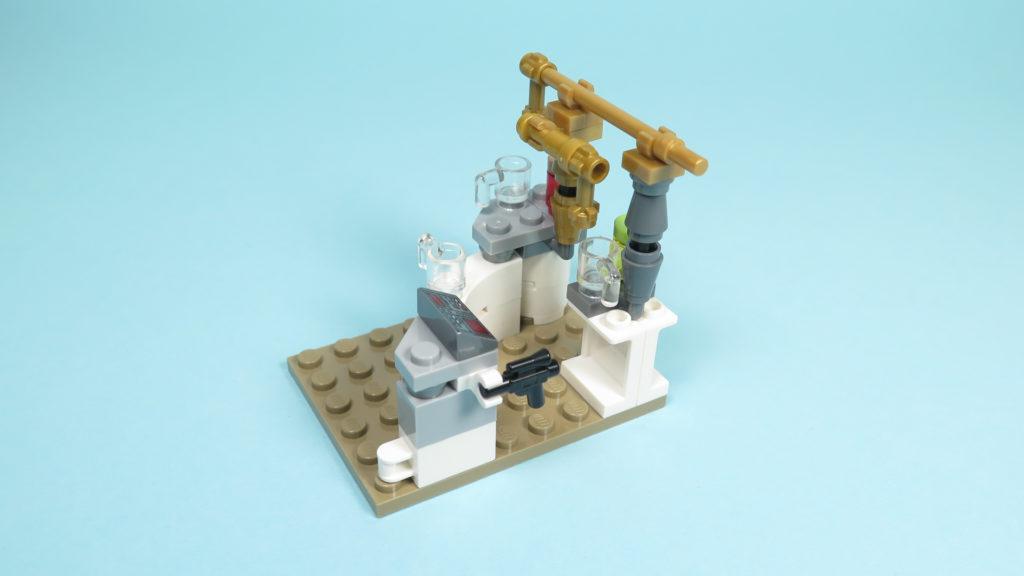 LEGO® Star Wars™ 75205 Mos Eisley Cantina™ - Bauabschnitt 2 - Bar - Zapfanlage | ©2018 Brickzeit