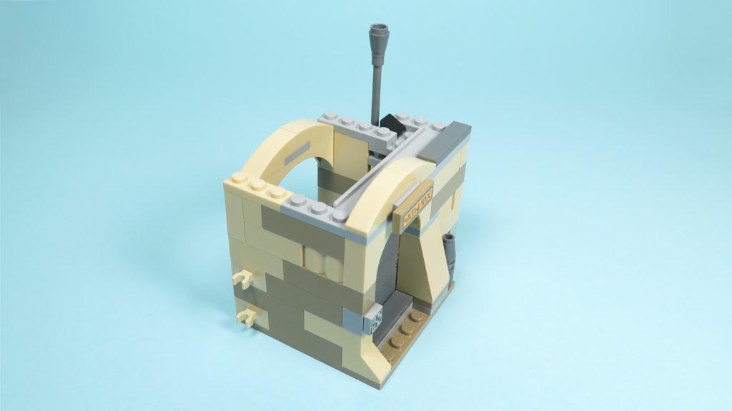 LEGO® Star Wars™ 75205 Mos Eisley Cantina™ - Bauabschnitt 2 - Verbinder | ©2018 Brickzeit