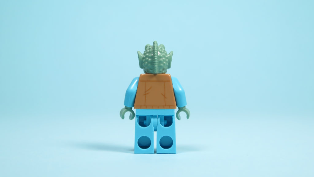 LEGO® Star Wars™ 75205 Mos Eisley Cantina™ - Greedo - Rückseite | ©2018 Brickzeit