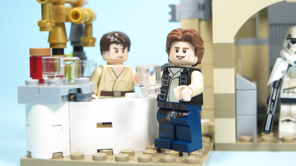 LEGO® Star Wars™ 75205 Mos Eisley Cantina™ - Han Solo an der Bar | ©2018 Brickzeit