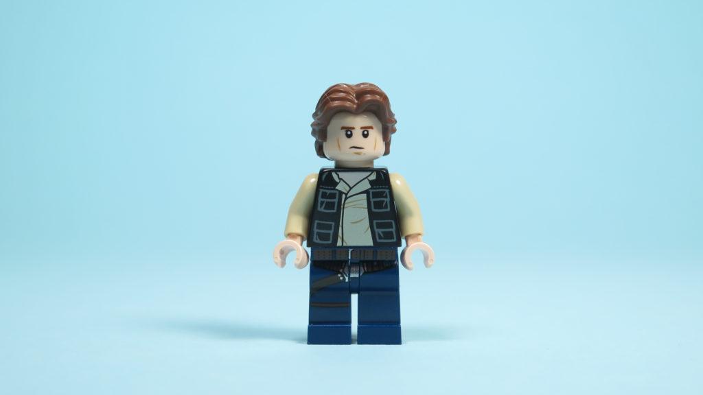 LEGO® Star Wars™ 75205 Mos Eisley Cantina™ - Han Solo - alternatives Gesicht | ©2018 Brickzeit