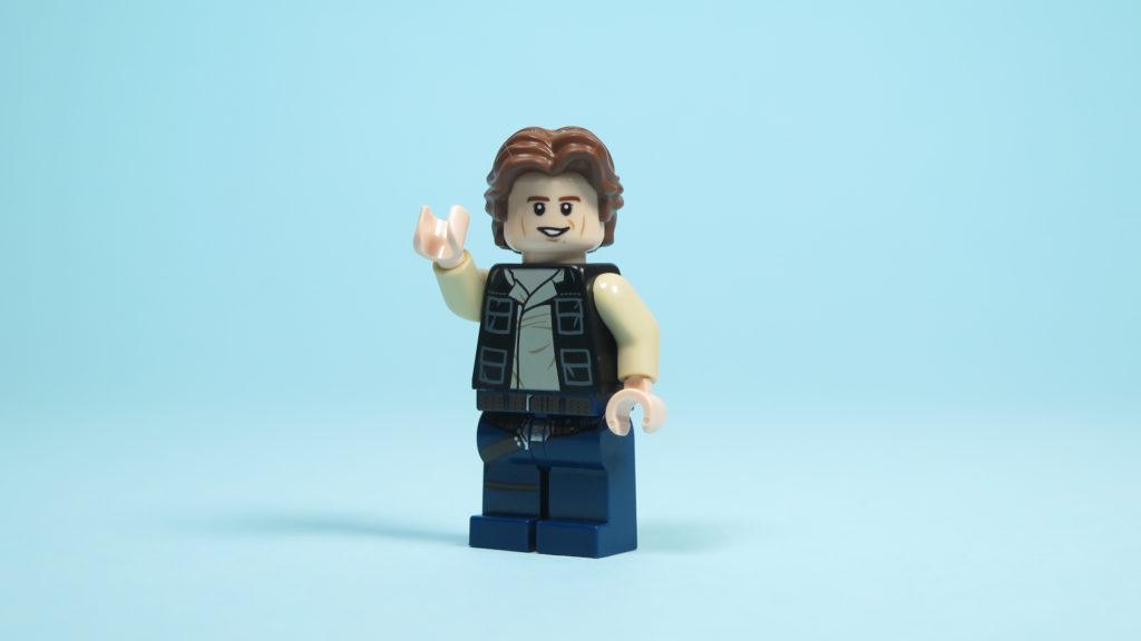 LEGO® Star Wars™ 75205 Mos Eisley Cantina™ - Han Solo - Vorderseite | ©2018 Brickzeit