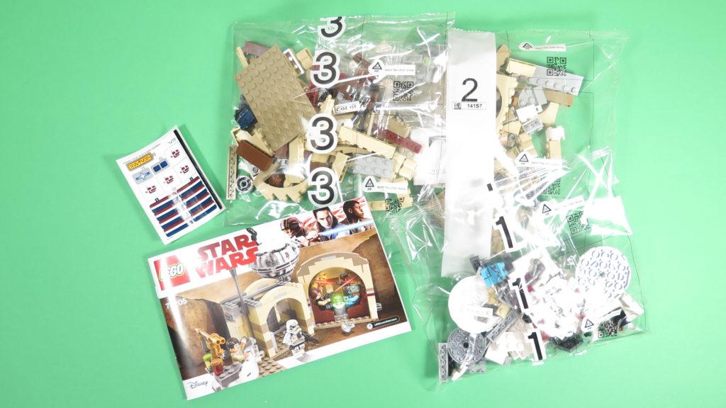 LEGO® Star Wars™ 75205 Mos Eisley Cantina™ - Inhalt | ©2018 Brickzeit