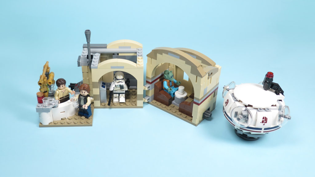 LEGO® Star Wars™ 75205 Mos Eisley Cantina™ - komplettes Set | ©2018 Brickzeit