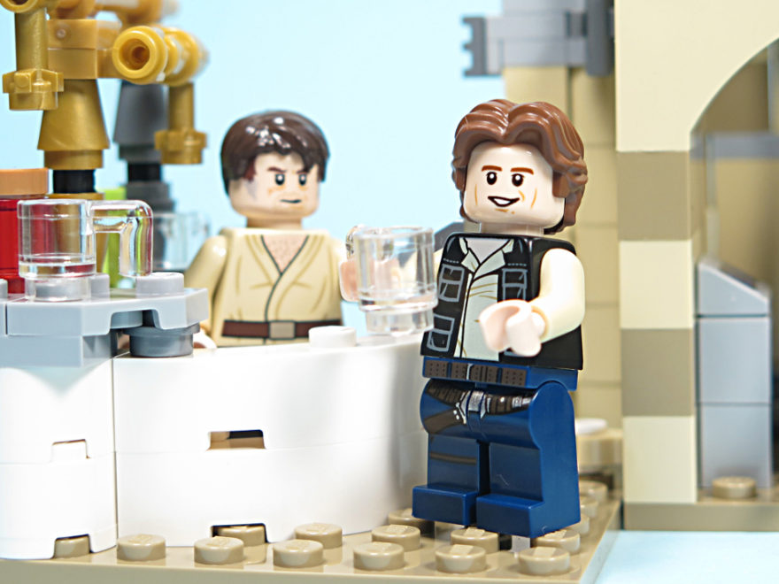 LEGO® Star Wars™ 75205 Mos Eisley Cantina™ - Titelbild | ©2018 Brickzeit
