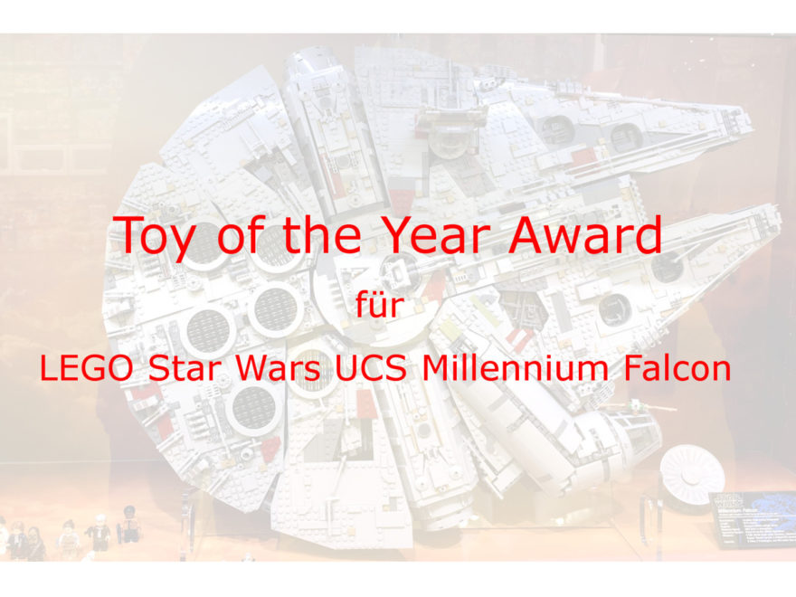 LEGO® Star Wars™ 75192 UCS Millennium Falcon™ - Toy of the Year Award 2018 | ©2018 Brickzeit