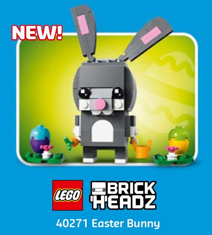 LEGO® Store Calendar March 2018 USA - Brickheadz Easter Bunny 40271 | ©LEGO Gruppe