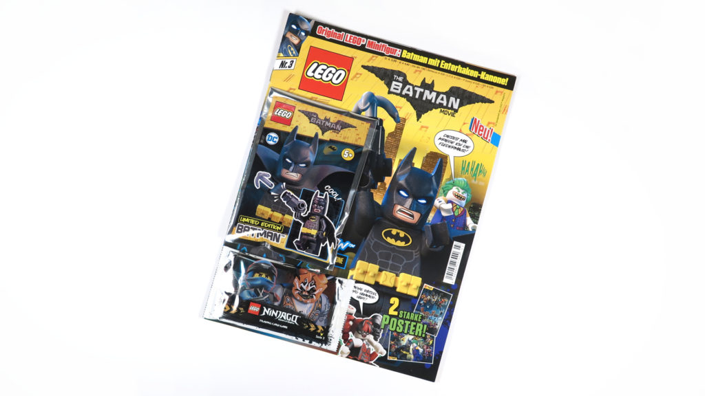LEGO® The Batman Movie Magazin Nr. 3 von Blue Ocean Entertainment | ©2018 Brickzeit