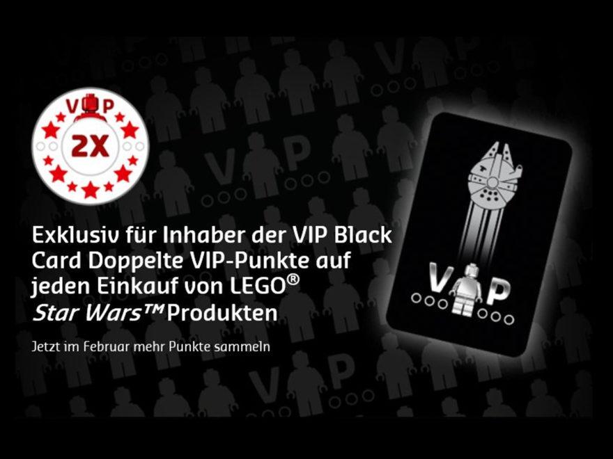 Doppelte VIP-Punkte für Inhaber der schwarzen LEGO VIP-Karte | ©LEGO Gruppe