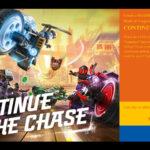 "Titelbild LEGO® Rebrick Wettbewerb ""Continue the Chase"" | ©LEGO Gruppe"