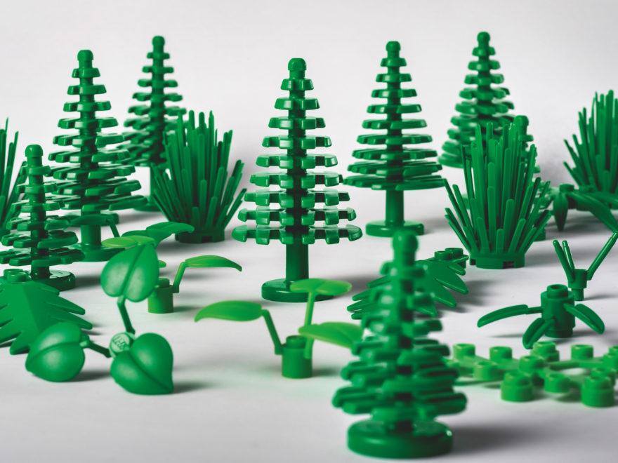 Nachhaltiges LEGO. Hergestellt aus Zucker. | ®LEGO Gruppe