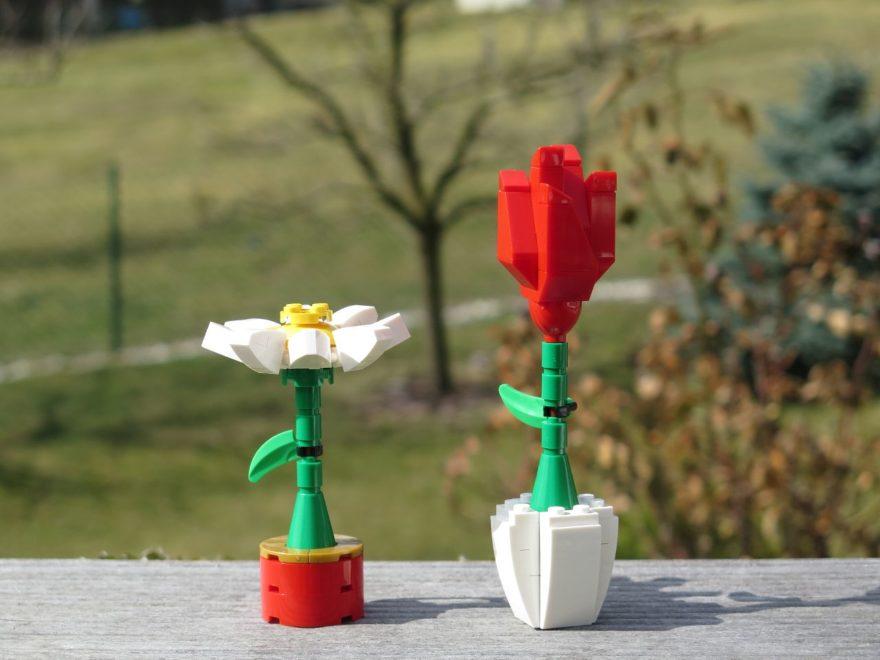 LEGO® Blumenpracht (40187) - Bild 1 | ©2018 Brickzeit