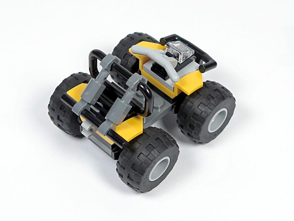 LEGO® City Dschungel-Quad (30355) - Perspektive Rückseite | ©2018 Brickzeit