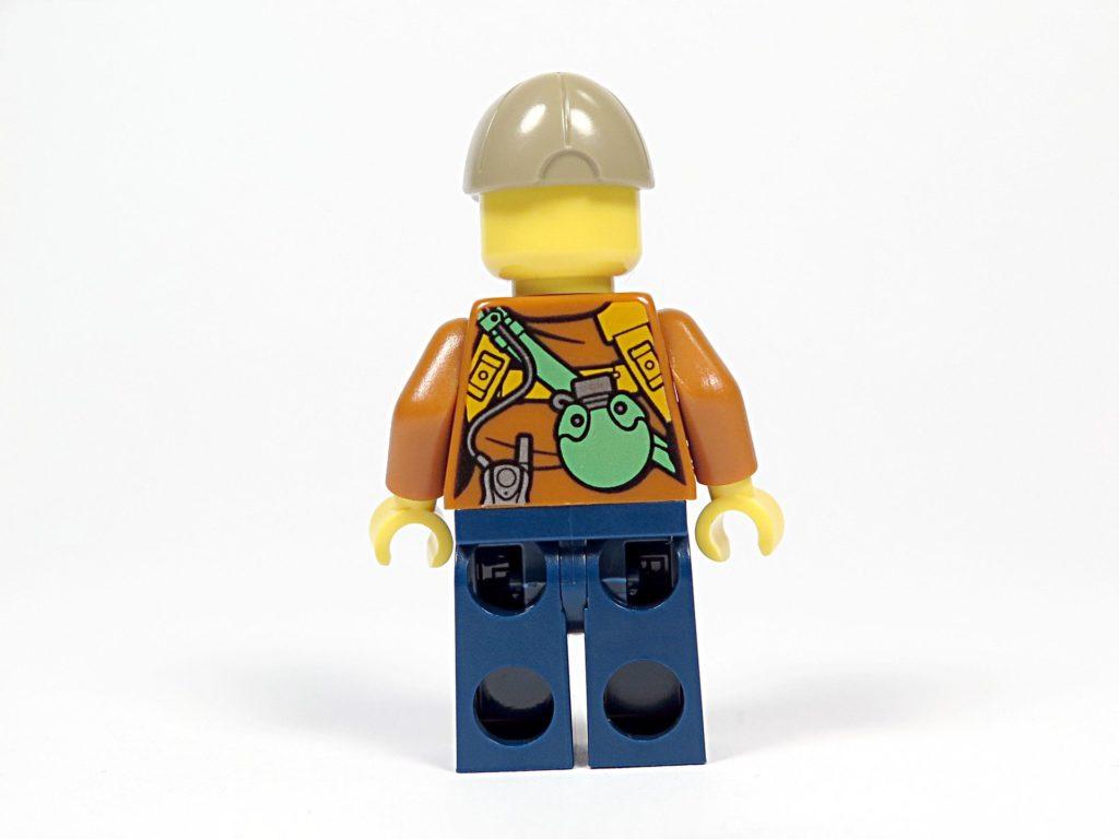 LEGO® City Dschungel-Quad (30355) - Abenteurerin Rückseite | ©2018 Brickzeit