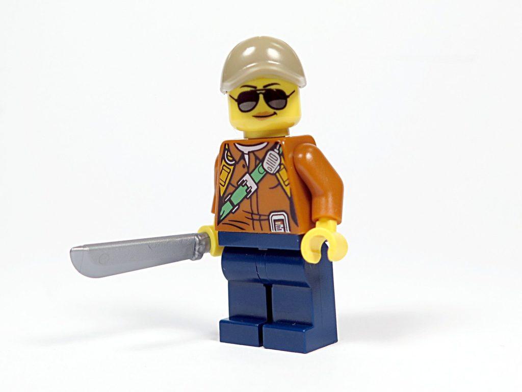 LEGO® City Dschungel-Quad (30355) - Abenteurerin Vorderseite | ©2018 Brickzeit