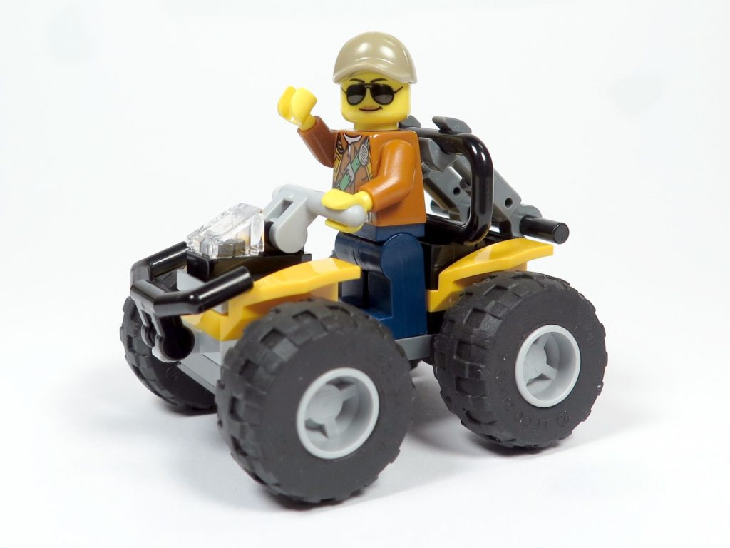 LEGO® City Dschungel-Quad (30355) - Quad und Figur | ©2018 Brickzeit