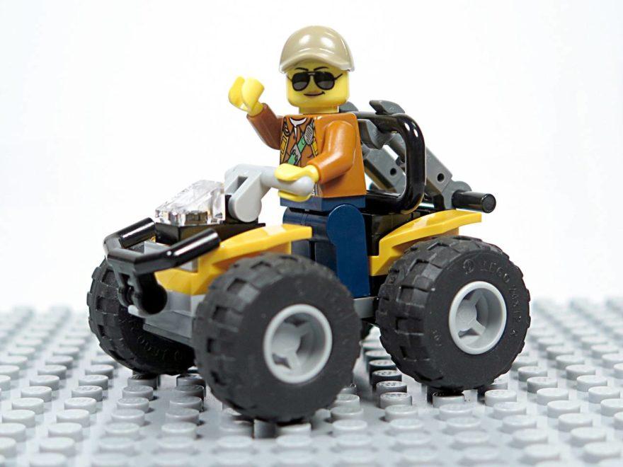 LEGO® City Dschungel-Quad (30355) - Titelbild | ©2018 Brickzeit
