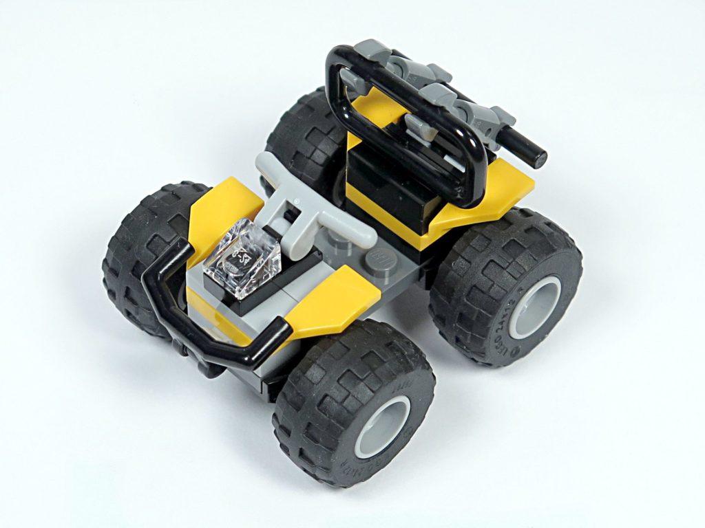 LEGO® City Dschungel-Quad (30355) - Perspektive Vorderseite | ©2018 Brickzeit