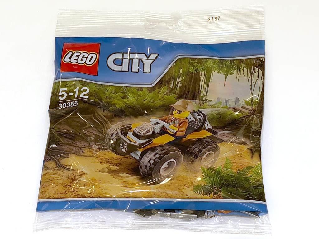 LEGO® City Dschungel-Quad (30355) Polybag | ©2018 Brickzeit