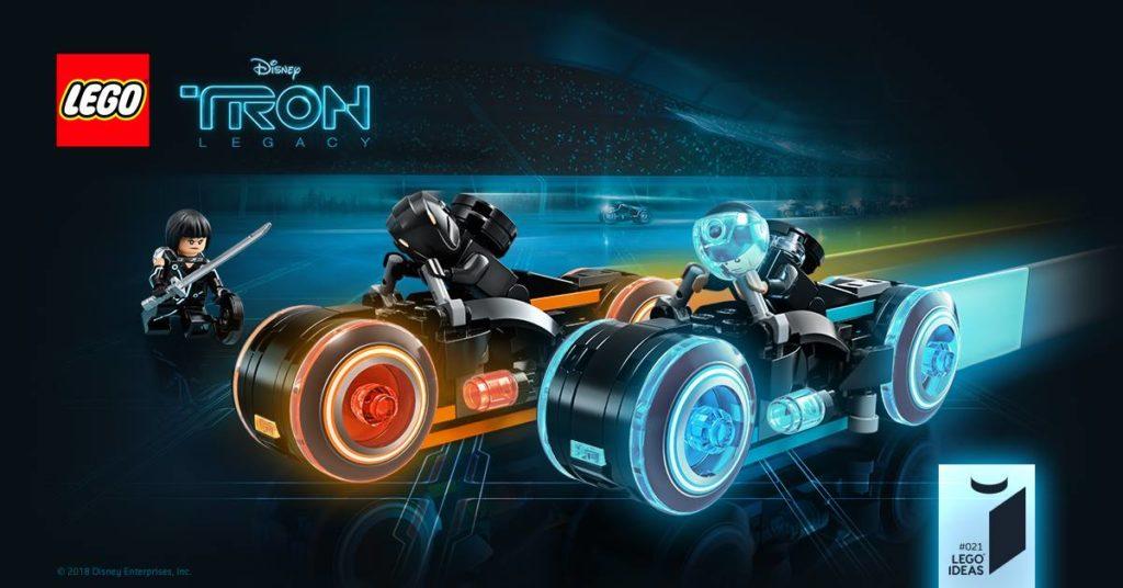 LEGO Ideas TRON: Legacy - Bild Packung | ©LEGO Gruppe
