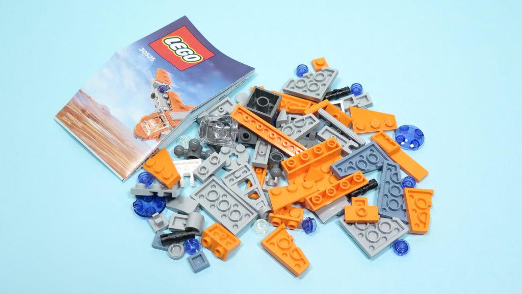 LEGO® Marvel Super Heroes 30525 The Guardians Ship / Das Schiff der Wächter - Inhalt | ©2018 Brickzeit