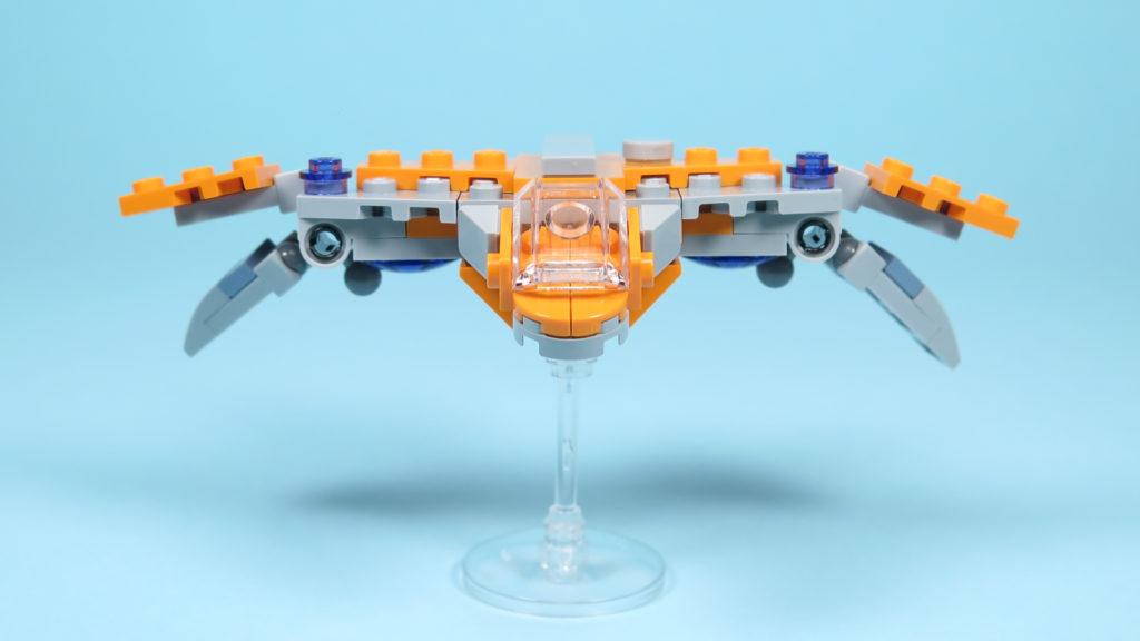 LEGO® Marvel Super Heroes 30525 The Guardians Ship / Das Schiff der Wächter - Vorderseite | ©2018 Brickzeit