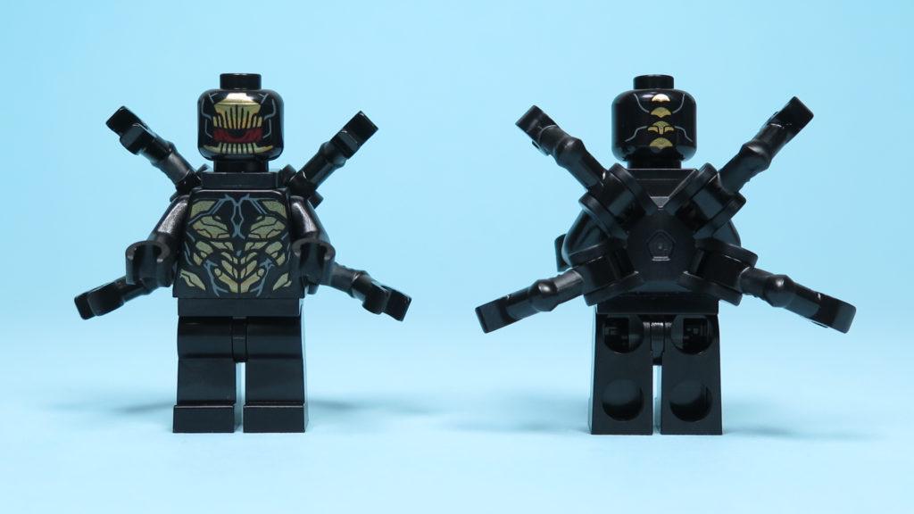 LEGO® Marvel Super Heroes 76101 Outrider Dropship-Attacke - Outrider Minifigur mit Zubehör | ©2018 Brickzeit