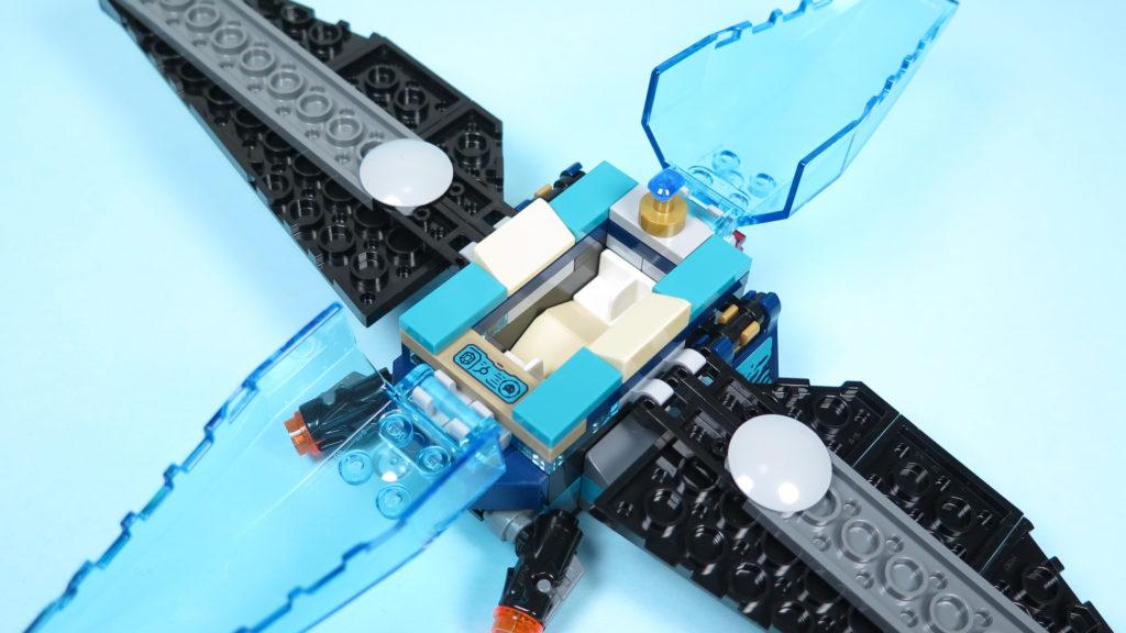 LEGO® Marvel Super Heroes 76101 Outrider Dropship-Attacke - leeres Cockpit | ©2018 Brickzeit