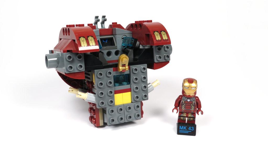 LEGO® Marvel Super Heroes - 76105 - Der Hulkbuster: Ultron Edition - Bauabschnitt 1 | ©2018 Brickzeit