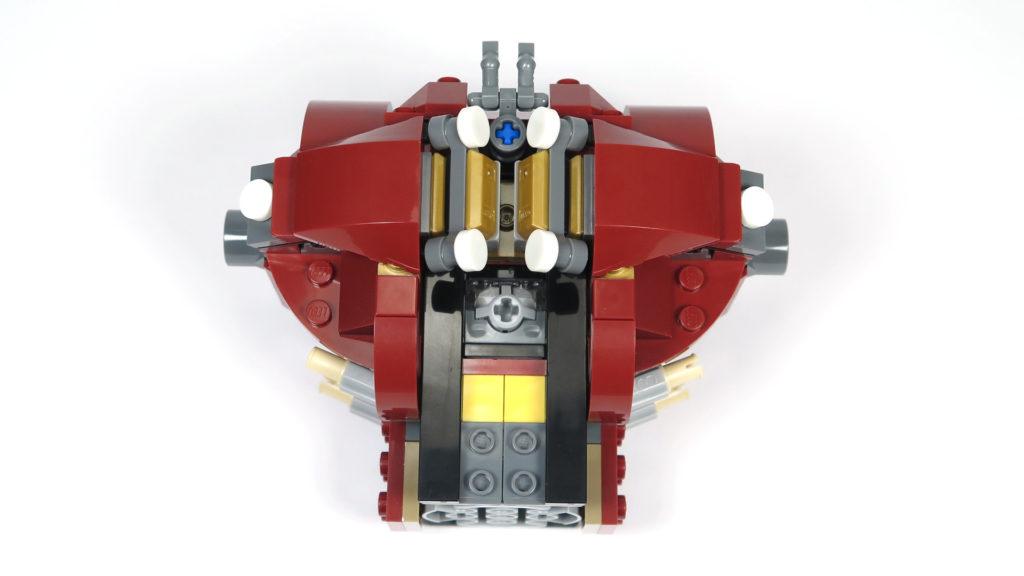 LEGO® Marvel Super Heroes - 76105 - Der Hulkbuster: Ultron Edition - Bauabschnitt 1 - Rückseite | ©2018 Brickzeit