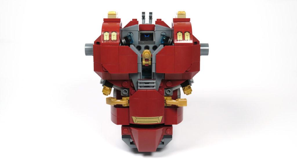 LEGO® Marvel Super Heroes - 76105 - Der Hulkbuster: Ultron Edition - Bauabschnitt 2 - Vorderseite | ©2018 Brickzeit