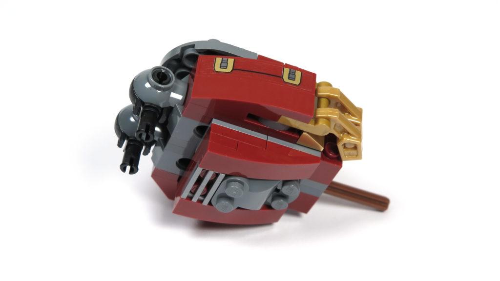 LEGO® Marvel Super Heroes - 76105 - Der Hulkbuster: Ultron Edition - Bauabschnitt 3 - Oberschenkel 1 | ©2018 Brickzeit