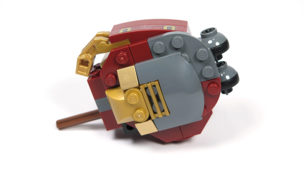 LEGO® Marvel Super Heroes - 76105 - Der Hulkbuster: Ultron Edition - Bauabschnitt 3 - Oberschenkel 2 | ©2018 Brickzeit