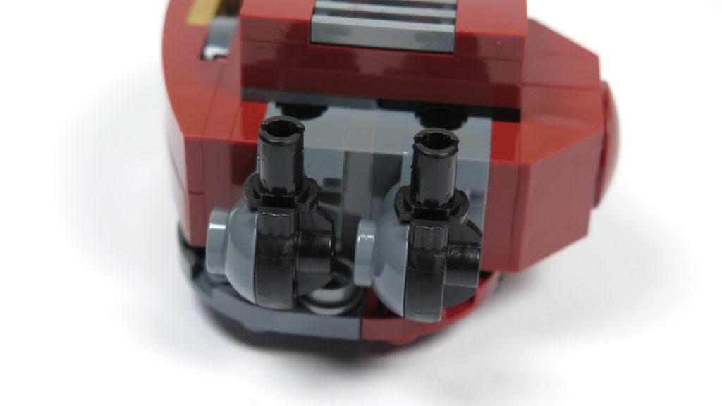 LEGO® Marvel Super Heroes - 76105 - Der Hulkbuster: Ultron Edition - Bauabschnitt 3 - Verbinder Oberschenkel | ©2018 Brickzeit