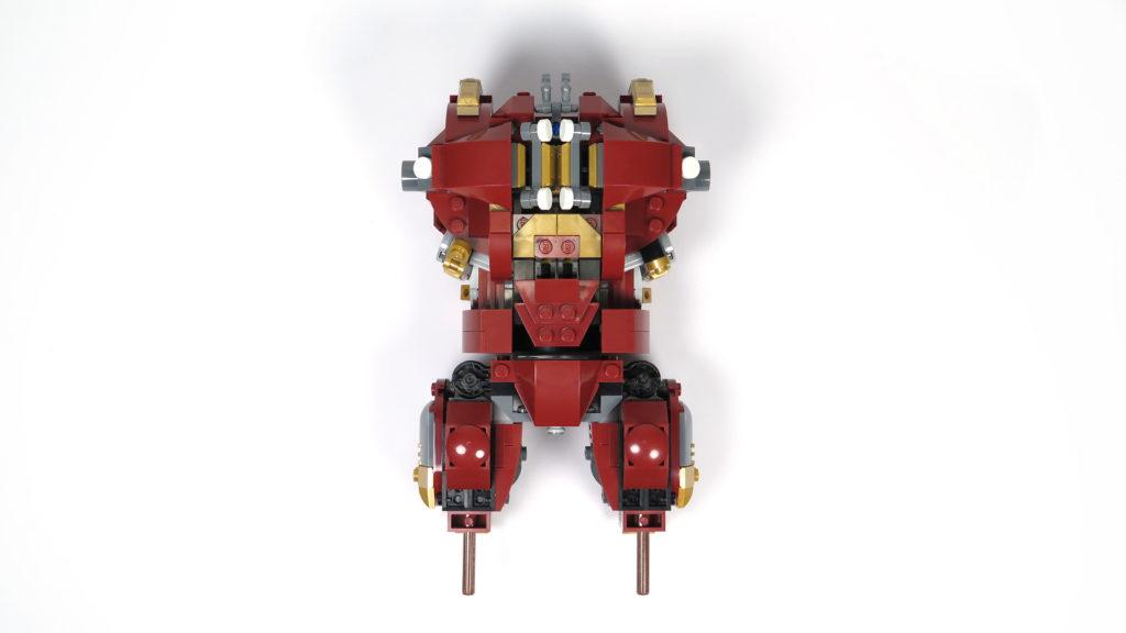 LEGO® Marvel Super Heroes - 76105 - Der Hulkbuster: Ultron Edition - Bauabschnitt 3 - Rückseite | ©2018 Brickzeit
