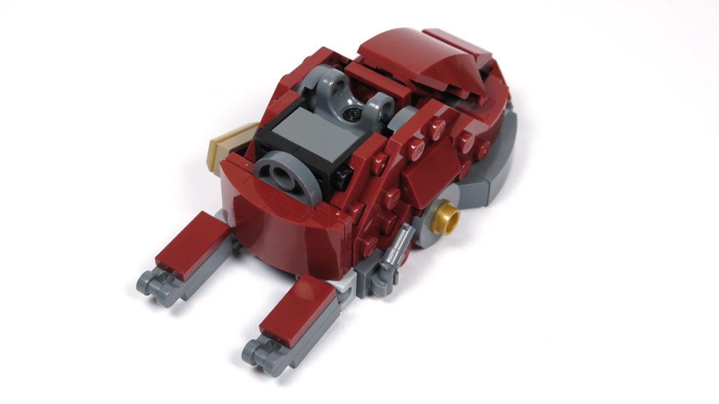 LEGO® Marvel Super Heroes - 76105 - Der Hulkbuster: Ultron Edition - Bauabschnitt 4 - Fuß Rückseite | ©2018 Brickzeit