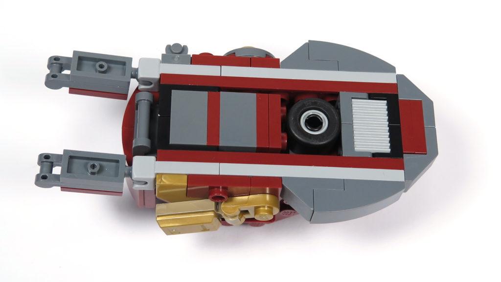 LEGO® Marvel Super Heroes - 76105 - Der Hulkbuster: Ultron Edition - Bauabschnitt 4 - Fuß Unterseite | ©2018 Brickzeit