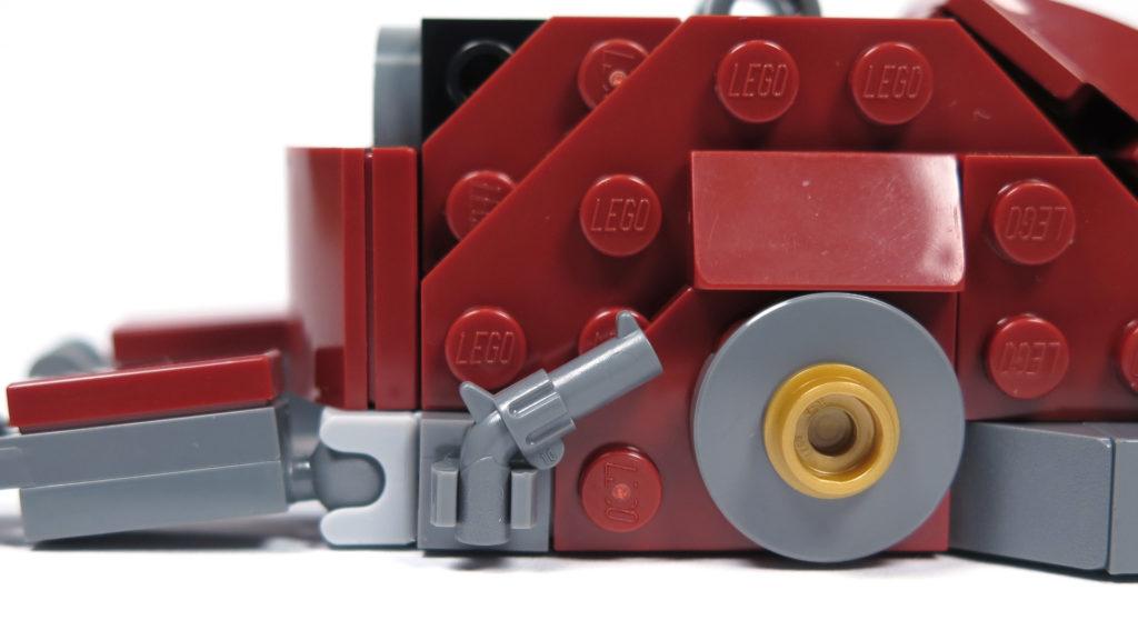 LEGO® Marvel Super Heroes - 76105 - Der Hulkbuster: Ultron Edition - Bauabschnitt 4 - Verzierung | ©2018 Brickzeit