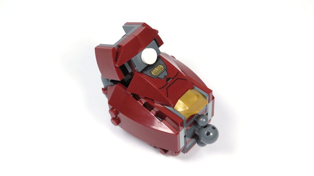LEGO® Marvel Super Heroes - 76105 - Der Hulkbuster: Ultron Edition - Bauabschnitt 4 - Unterschenkel 1 | ©2018 Brickzeit