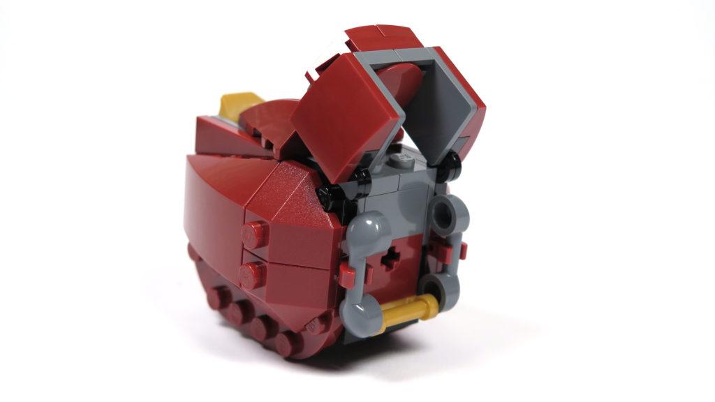 LEGO® Marvel Super Heroes - 76105 - Der Hulkbuster: Ultron Edition - Bauabschnitt 4 - Unterschenkel 2 | ©2018 Brickzeit